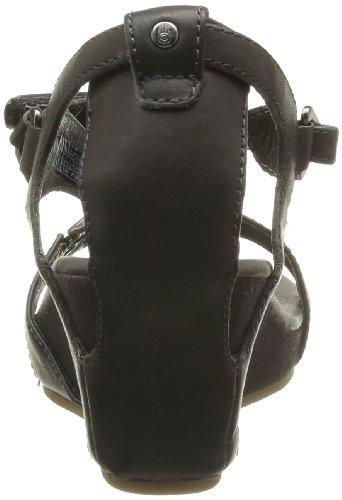 Teva W Capri Wedge, Sandales compensées femme Noir (Black Olive)