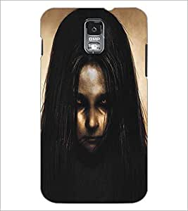 SAMSUNG GALAXY S5 ANGRY GIRL Designer Back Cover Case By PRINTSWAG