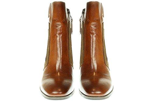 Mjus 270204-0101 - Damen Stiefelette Cowboy-/ Bikerstiefelette Boots Cognac