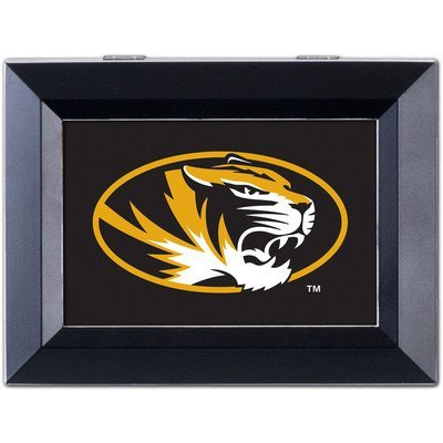Collegiate Music Jewelry Box Finish: Distressed Black, NCAA Team: University of Missouri - Tigers by Cottage Garden
