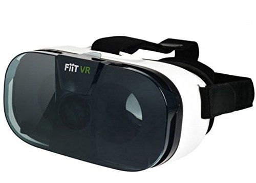 UNSEA FIIT 3D Senior VR Headset ,Virtual Reality Headset 3D VR Glasses Suitable for all ios & Android Smartphones(ABS Raw Material,High Transmittance Aspheric Optical lens)