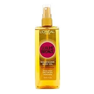 Self Tan by L'Oreal Paris Sublime Bronze Nourishing Body Oil Tan Optimiser 150ml
