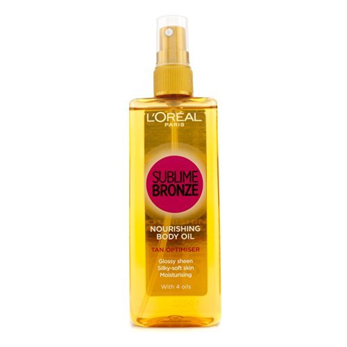 Self Tan by L'Oreal Paris Sublime Bronze Nourishing Body Oil Tan Optimiser 150ml