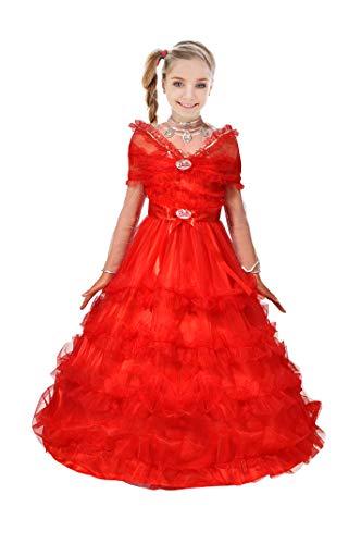 Barbie Deluxe Kostüm - Ciao Barbie Magie Feste (Deluxe Collector's Edition) Kostüm für Kinder, 5-7 Jahre, Rosa, 11662.5-7