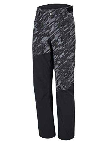 Ziener Herren TAVAN Man (Pant Ski Snowboard-Hose/Atmungsaktiv, Wasserdicht, Black.Black camo, 56