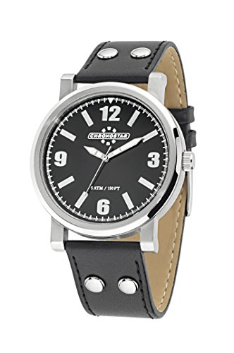 Chronostar Watches Aviator R3751235001 - Orologio da Polso Uomo