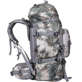 Outdoor-Rucksack Taschen Rucksäcke Army Grün 75L