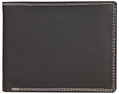 Herren-solo-star (Solo Pelle Herren Vintage Geldbörse aus geöltem Büffel Leder und mit Doppelnaht
