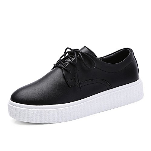 automne plate-forme chaussures femme / Plate-forme polyvalente fond plat chaussures/Chaussures occasionnelles de UK Sport/Petites chaussures blanches B