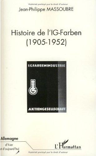Histoire de l'IG-Farben (1905-1952)