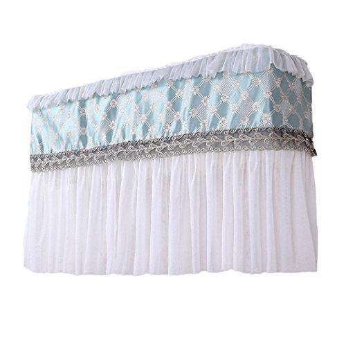 raylans Klimaanlage Lace Cover Innen Staubfrei, Jahr um Displayschutzfolie Home Decor, grün, 2P#