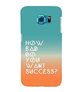 printtech Cool Quotes Success Back Case Cover for Samsung Galaxy S6::Samsung Galaxy S6 G920