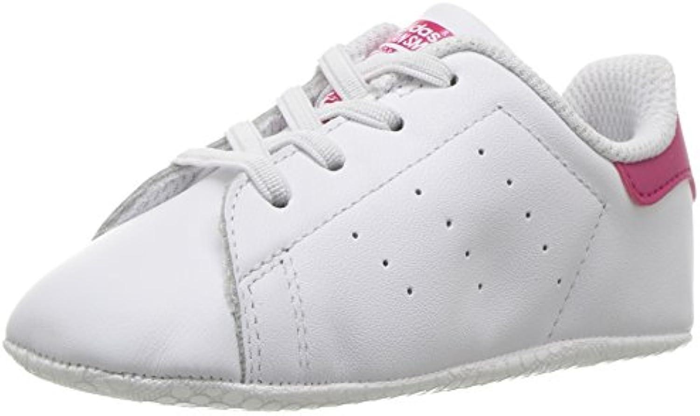 adidas originaux filles stan smith, baskets berceau de baskets smith, blanches et roses, gras, nous nourrissons de 5 m 7c3590