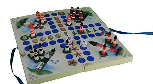 Preisvergleich Produktbild Würfelspiel Sylt - das Kultspiel für alle Syltfans / Reisepiel / Nordsee / Meer / Strand