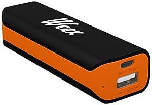 Weex Easy Batterie externe pour Smartphone/Tablette 2200 mAh Noir
