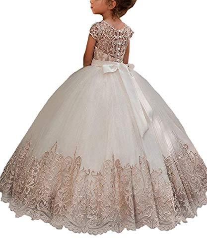 CLLA dress Mädchen Blumenmädchenkleider Kinder Kleider Festlich Brautjungfern Kleider Prinzessin...