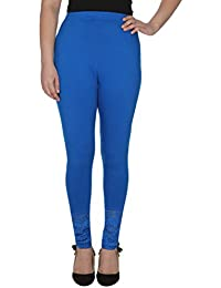 Anekaant Cotton Lycra With Lace Legging