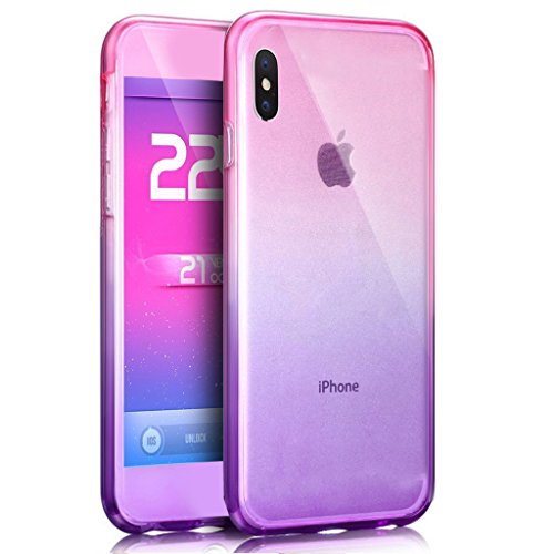iPhone X 5.8 Pouce Coque Silicone Paillette Bling Bling Crystal Case,iPhone X Coque Ultra-Mince Transparente Etui Housse avec Bling Diamant,iPhone X Bling Brillant Glitter Transparente Soft Slim Silic Full TPU 12