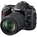 Nikon D7000 SLR-Digitalkamera (16 Megapixel, 39 AF-Punkte, LiveView, Full-HD-Video) Kit inkl. AF-S DX 18-105 VR