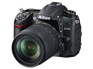 Nikon D7000 Kit reflex 16,2 Mpix Noir + Objectif AF-S DX 18-105 VR