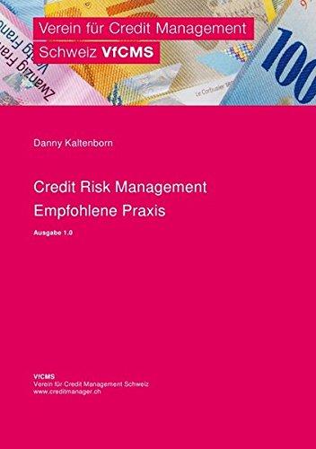 Credit Risk Management - Empfohlene Praxis