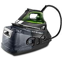 Rowenta Silence Steam Pro DG9248F0, 2800 W, 1.3 litros, Negro y Verde