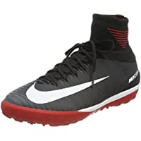 NIKE Jr MercurialX Proximo II DF TF, Chaussures de Football Mixte Enfant