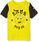Puma Baby T-shirt BVB Minicats Graphic Tee, cyber yellow-black, 68, 750139 11