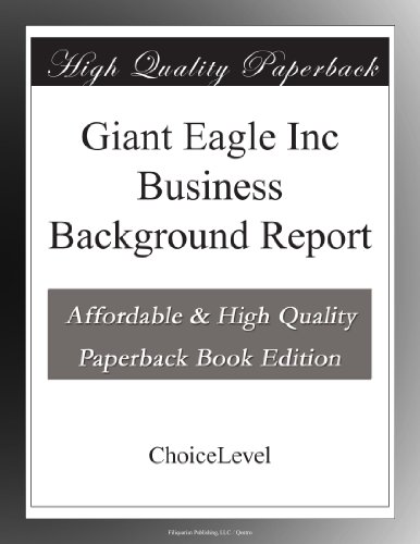 giant-eagle-inc-business-background-report