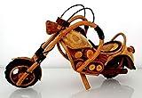 Deko-Motorrad aus Holz - handgearbeitet - sehr detailgenau - Bike 'S', Holzmotorrad Motorrad...