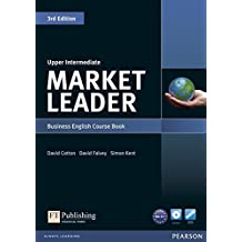 Market Leader 3rd Edition Upper Intermediate Coursebook & DVD-Rom Pack.