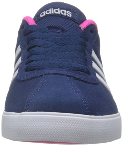 adidas Damen Courtset W Turnschuhe, Mystery Blue Ftwr White / Shock Pink Mehrfarbig
