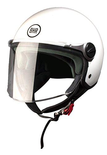 BHR Motorradhelm, Demi-Jet, Modell 710 57/58 Bianco