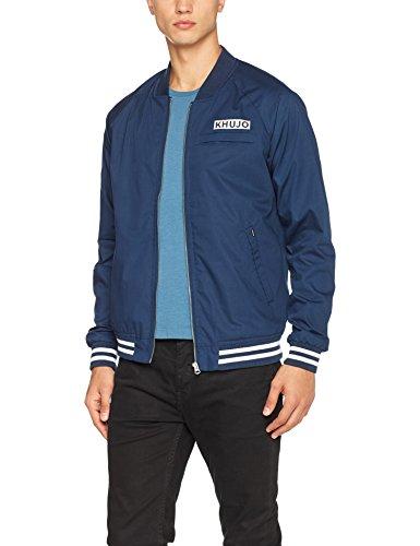 khujo Herren Jacke YOSHINA College Jacket, Blau (Blue 422), X-Large (Herstellergröße:XL)