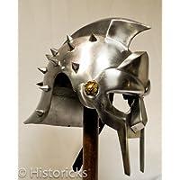 Casque gladiateur Maximus (avec doublure) CE Collier s'/ Jeu/–/Théâtre