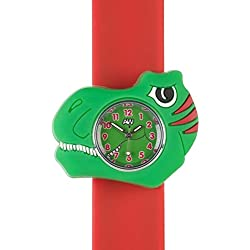 Childen Watch-3D animals-Multi colour-Easy to read clock-Fashion watches-Time teaching-Children Boys Girls-Splash resistant-Easy snap-on wrist watches-Perfect birthday gifts Christmas gift