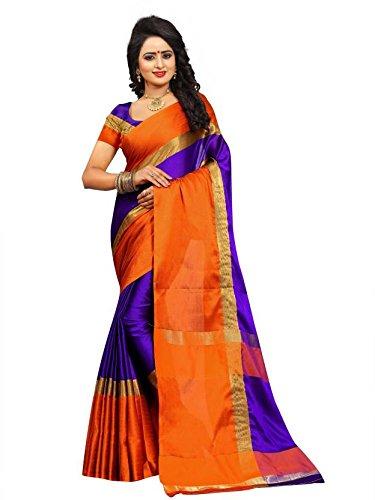 Womans cotton silk saree (Bengani)