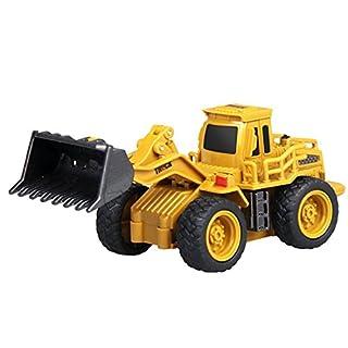 GUOGUO 1:64 RC Mini Mobile Machinery Shop Set Toys Children Toys Bulldozer Toys Vehicle Playset for Children