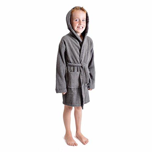 K collection -  accappatoio - ragazza grigio grey