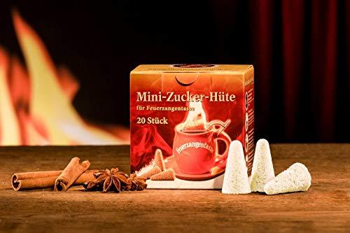 Feuerzangentasse Mini-Zucker-Hüte (20 Stück)