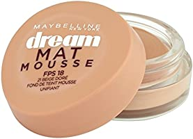 Gemey-Maybelline - Dream Mat Mousse - Fond de teint mousse  - 21 beige doré