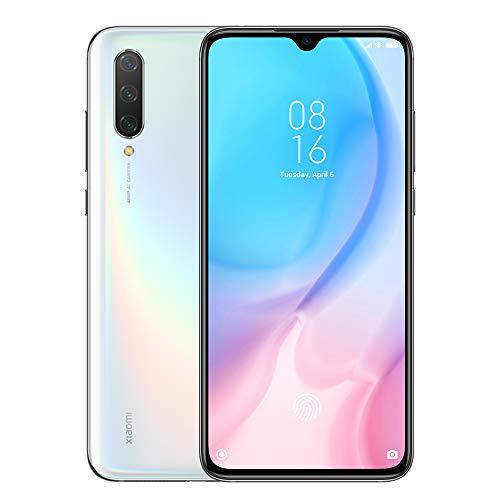 xiaomi mi 9 lite 128gb dual-sim bianco eu [16,23cm (6,39) oled display, android 9.0, 48+8+2mp ai triple kamera]