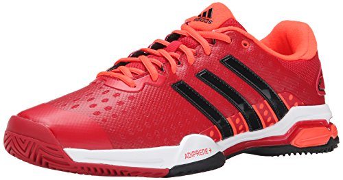 Chaussures Adidas Performance Barricade Team 4 Tennis, Ciel gris / argent / minuit Gris, 7 M Us Power Red / Black / Solar Red