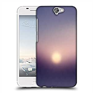 Snoogg blurry sunrise Designer Protective Back Case Cover For HTC one A9