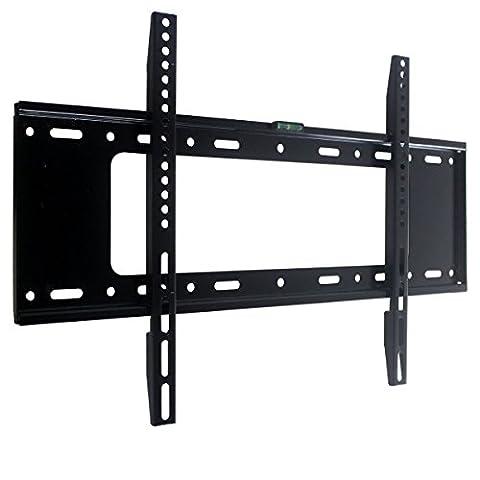 Support mural pour TV position fixe pour la plupart 32-165,1 cm moniteur à écran plat Plasma LCD LED jusqu