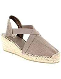 85797da2b8e31 Amazon.fr   Toile - Sandales   Chaussures femme   Chaussures et Sacs