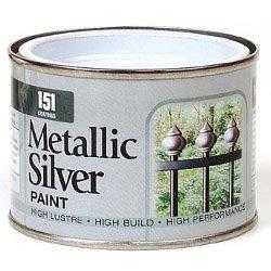 151 Pintura Metalizada Plata 180ml