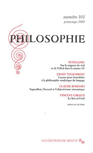Philosophie, N° 101, Printemps 20 :