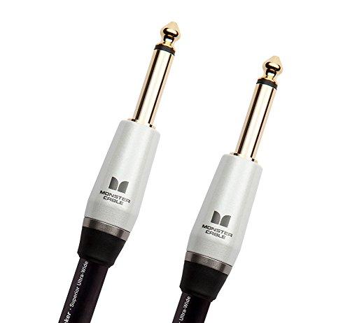 Cable Monster Sp2000 (Monster Cable SP2000-S-3 Jack Droit auf Jack Droit Instrumentenkabel (90 cm))