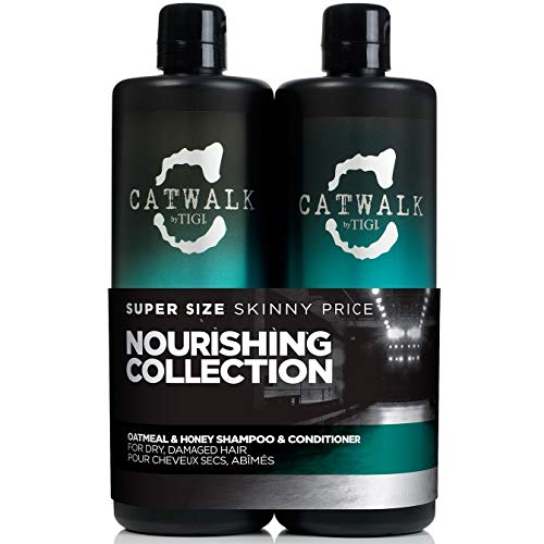 TIGI Catwalk Tween Duo - Oatmeal & Honey - Shampoo 750 ml + Conditioner 750 ml